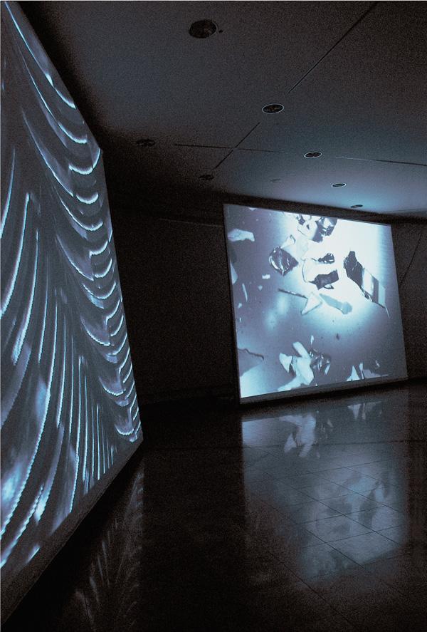 Entropia. Installation View, Kunstverein Rüsselsheim, 1997